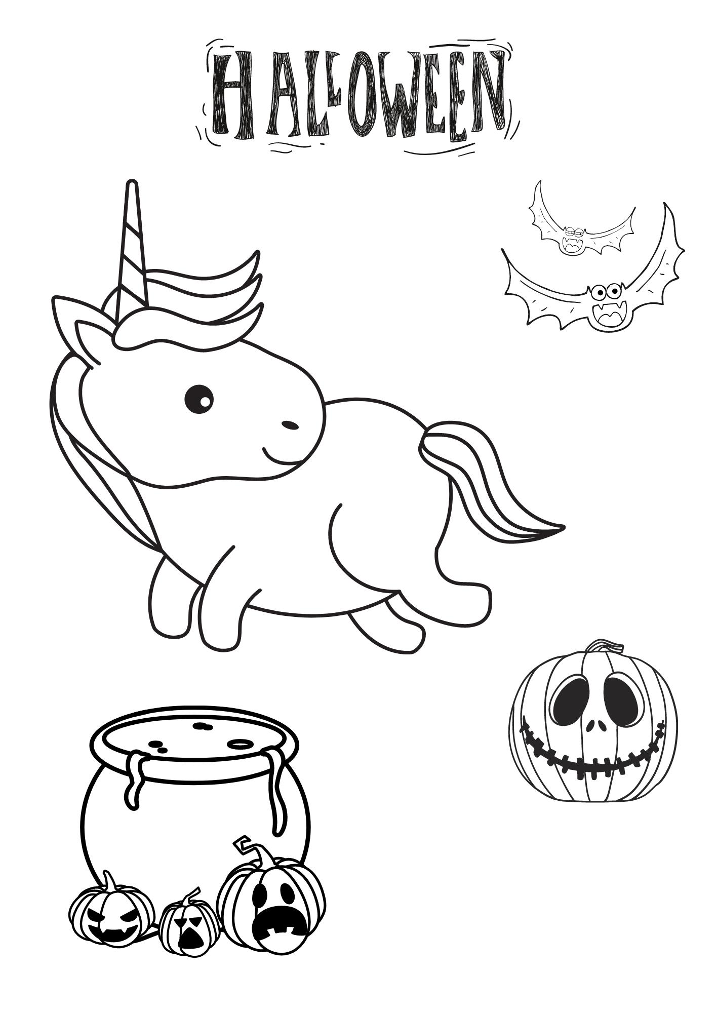 Einhorn Halloween